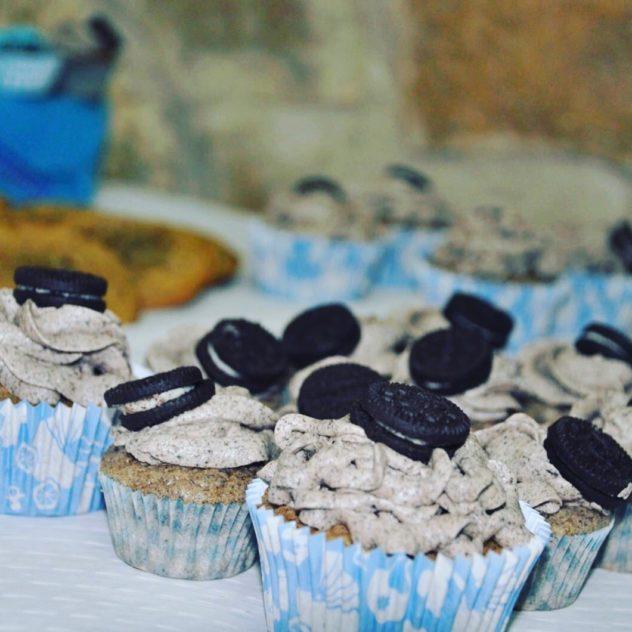 Baby Shower - Cupcakes de Oreo