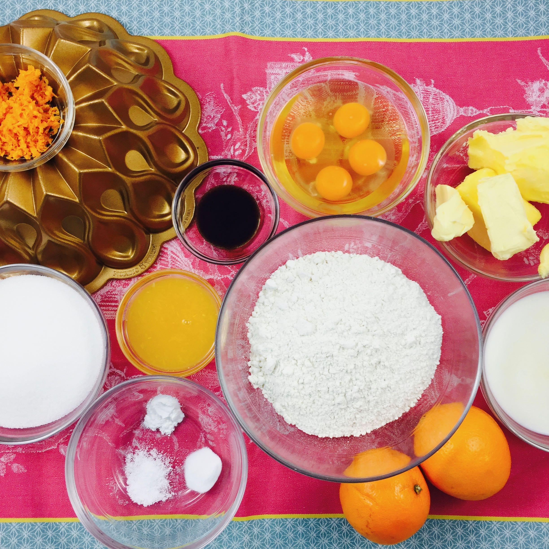 Bundt de Naranja