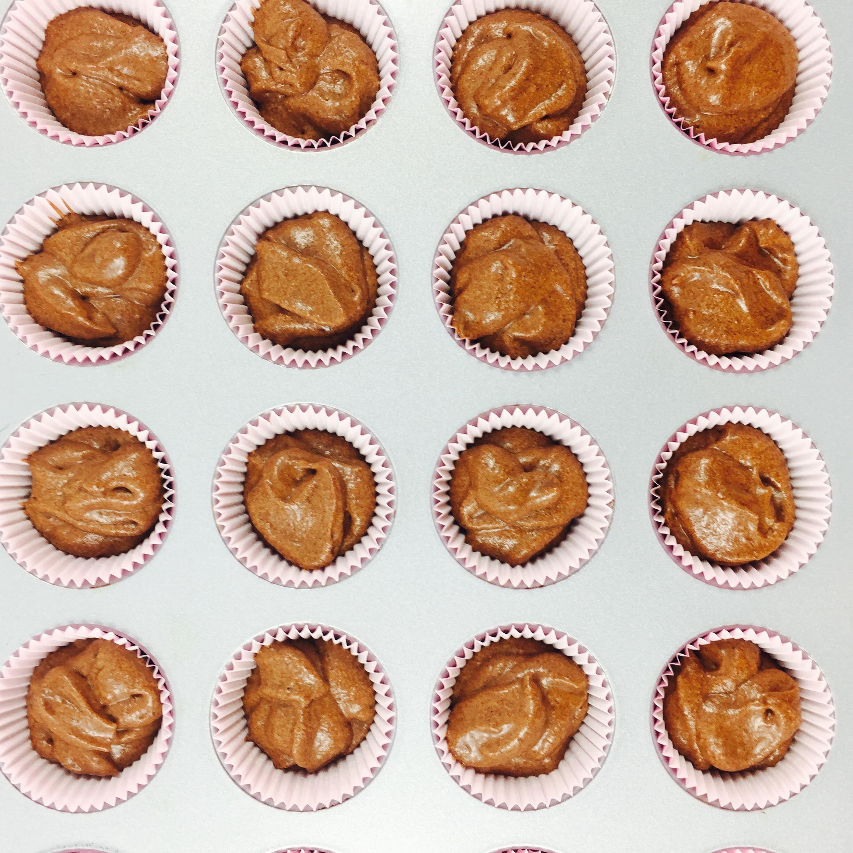 Cupcakes de Chocolate y Almendra