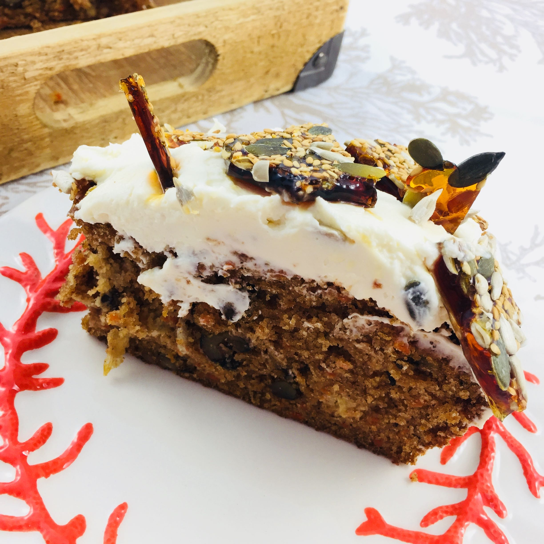 Pound Cake de Zanahoria