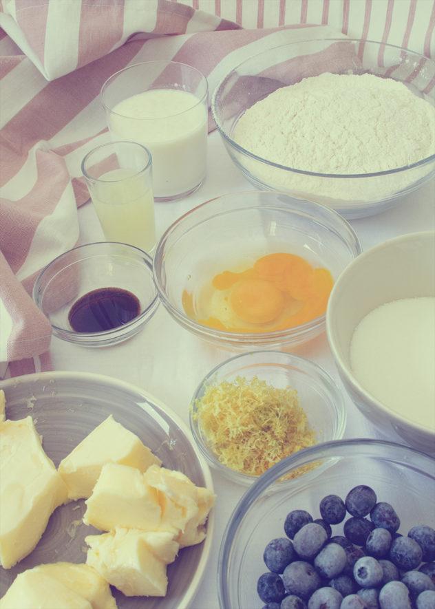 Bundt Cake de Limón y arándanos-ps1